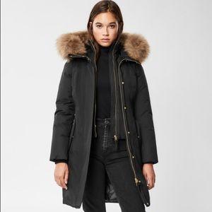 Mackage harlowe fur hood winter coat size small